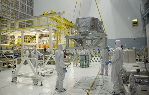 NASA cleanroom or very clean foundry operation?